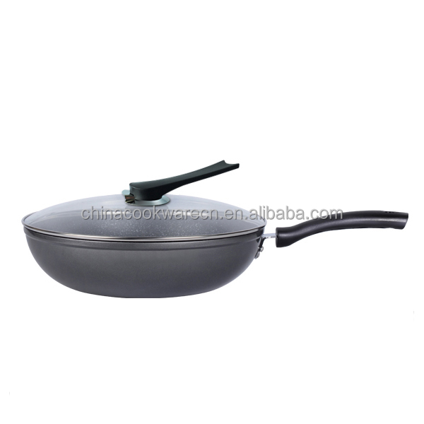Hot selling forged aluminum non-stick wok