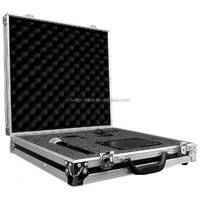 Exclusive High-density Pick Fit Foam Wireless Microphone Case Flight Case