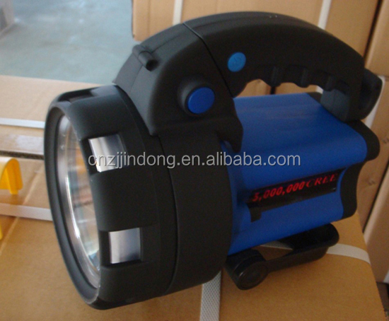 LED RECHARGEABLE PORTABLE SPOTLIGHT WITH WEATHERPROOF