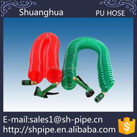 High pressure manual pu press hydraulic hose with fittings