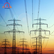 Electric china suppliers electricity line tower transmission poles structures