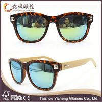 Colorful best-selling men flat top sunglasses