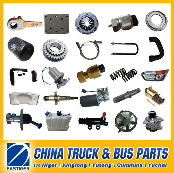 Over 200 Items HIGER bus spare parts