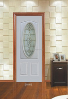 glass door(polystyrene insulated,pine wood edge)