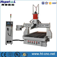 4 Axis Cnc Router Machine Wood