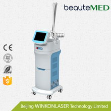Stationary fractional co2 laser skin rejuvenation vaginal therapy equipment