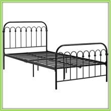 Direct Sale Cheap Metal Bed Frame Double/Single Labor Bed Dorm Bed