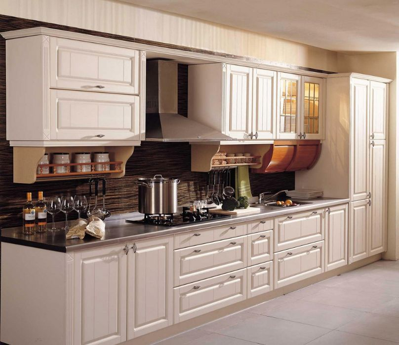 Vinyl Kitchen Cabinet Doors: Sgs Wpc Pvc Foam Board Vinyl Wrapped Kitchen Cabinet Doors