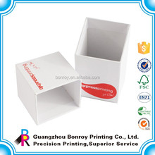 Lid and base two parts business card box 64x95x35mm for standard size business card
