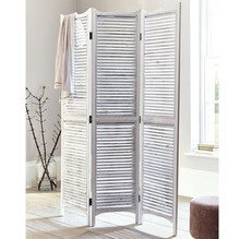 Low price room divider multifunction folding wooden screens