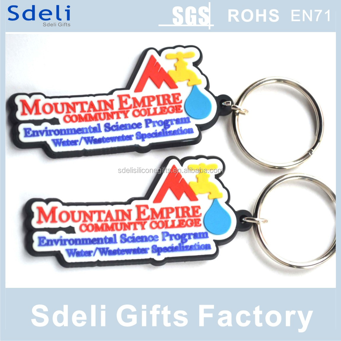 factory diect sell cheapest custom soft pvc keychain /rubber keyring/soft pvc rubber keytag