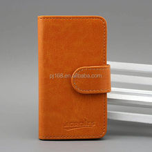 Pure color book style for Vodafone Smart 4 Power, wallet card holder case for Vodafone Smart 4 Power