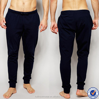 Blank jogger pants wholesale fashion loose and leisure mens sweatpants