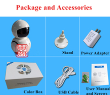 HD 1280P Play and Plug P2P CCTV Security Baby Monitor Wireless Wifi IP Camera