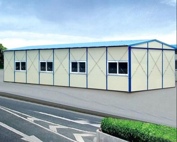 china prefabricated homes for Camp at construction site steel building structure, bunkhouse