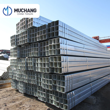 tianjin muchang steel gi square pipe ms square tube price list