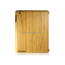 High quality custom bamboo wooden hard case for ipad air