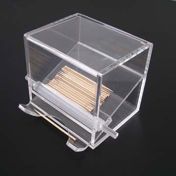 Cube Stackable Clear Acrylic Dental Storage Boxes