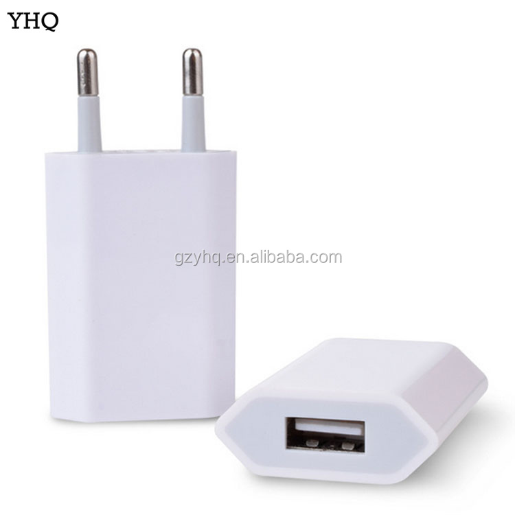 USB AC Power Adapter EU US Plug Wall Charger For iPhone 5 4 3G 3GS