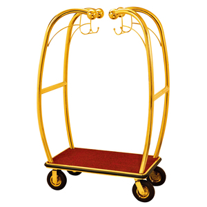 hot sale custom hotel trolley hotel luggage trolley luggage cart