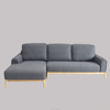 Ash Base Wooden Corner Sofa Living