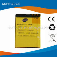 China factory OEM replacment mobile phone battery BL-4CT for Nokia 5310 li-ion battery 3.7v 1000mah