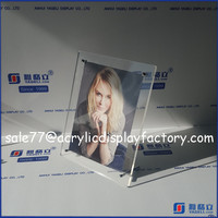 Wholesale acrylic photo frame sex photo frame open hot sexy college girl photo frame