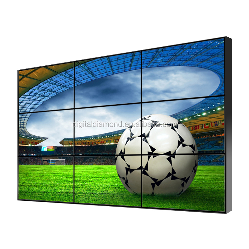 46 inch 3.5mm Digital HDMI/DVI/VGA/AV/YPBPR lcd video wall