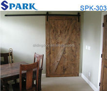 Modern China Supplier Best Quality American Style Sliding Fancy Wood Door Design
