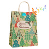 Funny singing christmas candy bag