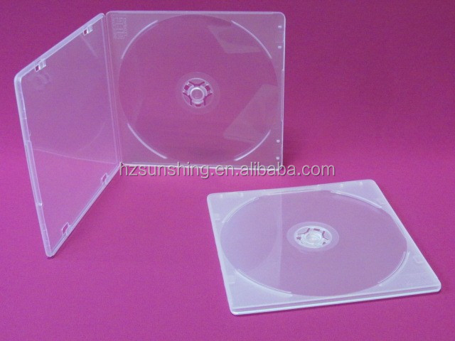 5mm small pp CD DVD case with good quality