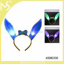 Easter glowing party light up bunny ears flashing headband