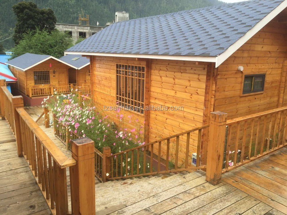 China Manufacturer Low Price Wood Prefabricated Home Log Cabin Wooden Homes