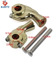 Chinese Manufacturer Wholesale Motorcycle Parts Brass 1inch 25.4mm Handlebar Riser For Motorcycle Handlebar Clamp