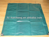 Olive green 2X3 m waterproof woven fabric tarpaulin
