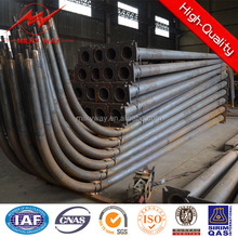Q345 16m steel street light pole factory