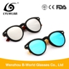 Fashion Custom Logo Black TR90 Sunglasses