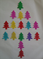 ~Wholesale~Christmas Tree Tissue Paper Confetti