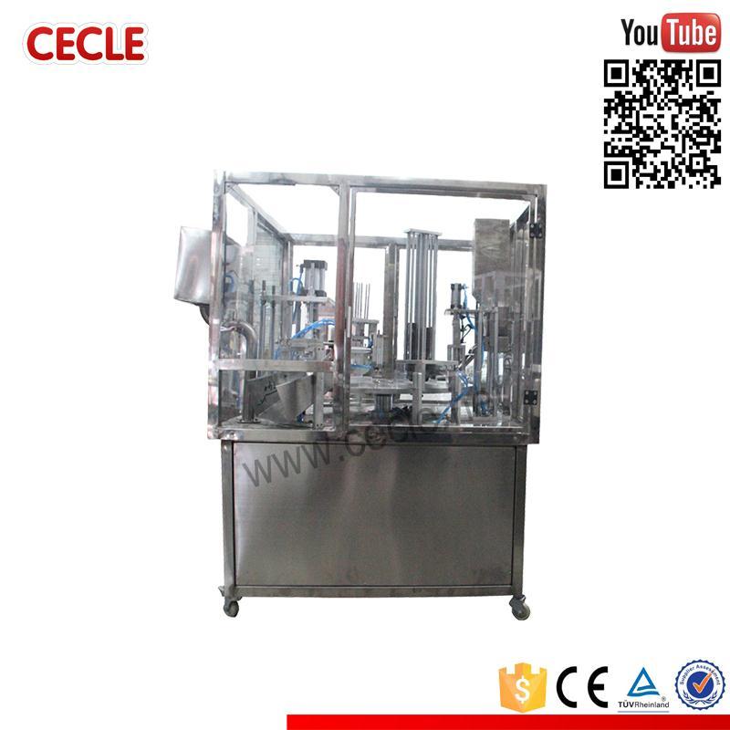 hot sale nespresso coffee capsule filling and sealing type k cup coffee capsule filling and sealing machine