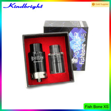 2015 fish bone style rda products fishbone xs rda clear color best mechanical vaporizer fishbone xs fishbone xs rda in stock