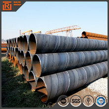SSAW price of 48 inch steel pipe in stock, 28 inch carbon steel pipe irrigation used, double wall spiral tube