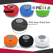 Stereo Waterproof Bluetooth Speaker Supports Hands-free Profile Bluetooth 3.0V & IPX 4 Level