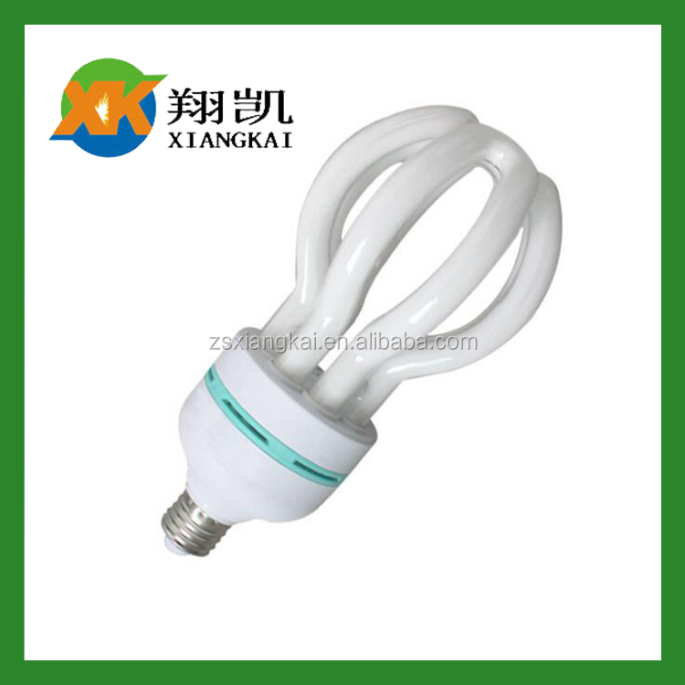 Long life high lumen factory price flower lotus 2700k 6400K marked 85w in fact 36w cfl lamp