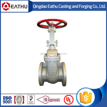 api stainless steel non-rising stem gate valve
