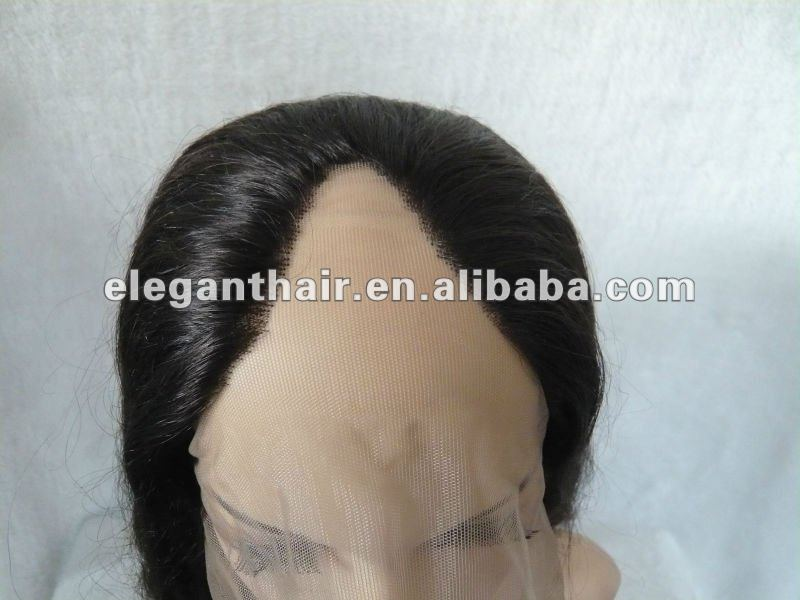 100% human hair U part wig for sale