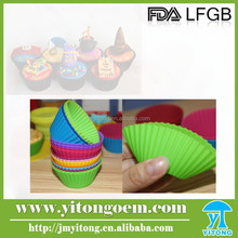 silicone baking cup silicone teacup cupcake