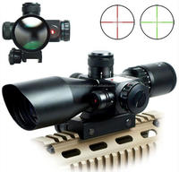 2.5-10x40 Long Range Optical Rifle scope for gun and weapon