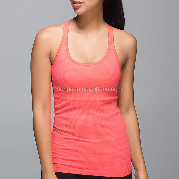 Fashion women sexy tank tops 100% cotton sleeveless summer vest with low prices made in China