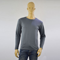 Wholesale Custom High Quality Long Sleeve Men's Fitness clothes T Shirts quick dry quality t shirt