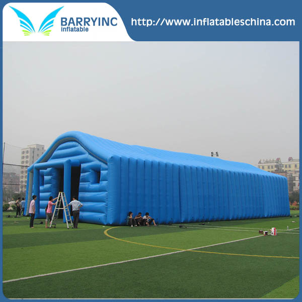 Giant inflatable warehouse for merchandise,stores